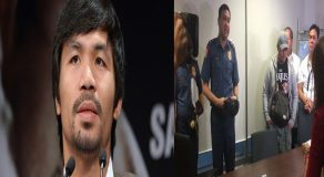 Senator Manny Pacquiao Dares Hazing Suspects To Boxing Match