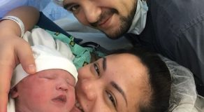 Geoff Eigenmann and Girlfriend Maya Welcome Baby Girl