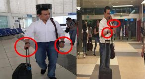 Senator Trillanes Spotted Wearing Two Watches On His Singapore Trip