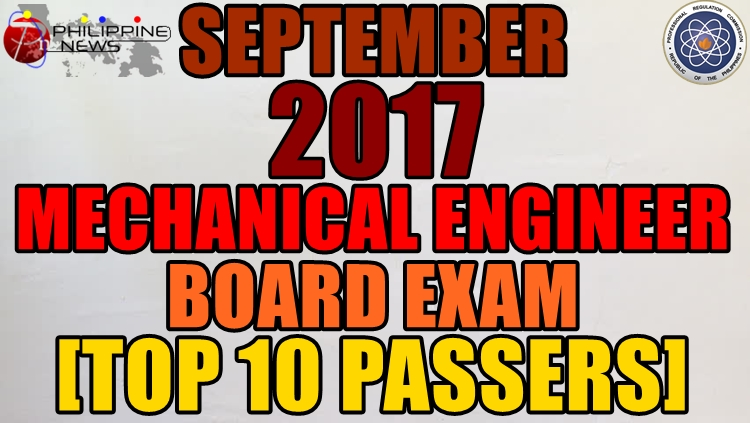 September 2017 Mechanical Engineer Top 10