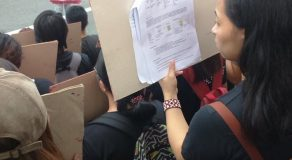 Photo Of UP Student Reviewing During September 21 Protest Goes Viral