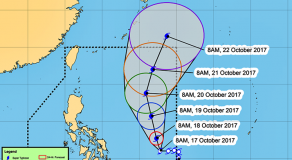 'Bagyong Paolo' Intensifies To Severe Tropical Storm, PAGASA Says