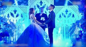Teddy Corpuz Proposes, Marries Wife Again In Showtime Magpasikat Performance