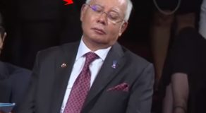 Malaysian Prime Minister Caught Sleeping During Duterte's Speech At 31st ASEAN Summit