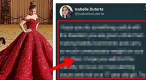 Isabelle Duterte Reacts On Criticisms Over Pre-Debut Photo Shoot In Malacanang
