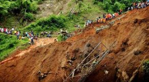 BREAKING NEWS! 44 Buried In Landslide Due To Typhoon Urduja