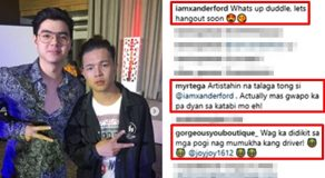 Xander Ford, Paul Salas' Photo Together Receives Several Comments