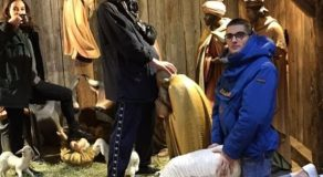 These Guys Goes Viral Worldwide After Posting Photo Insulting Nativity Scene