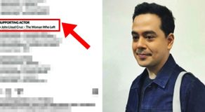 John Lloyd Cruz Reacts To Nomination In ICS Awards Together With Some International Stars