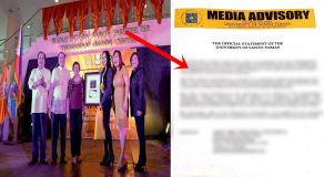 UST Issues Official Statement On UAAI's Award Given To Mocha Uson