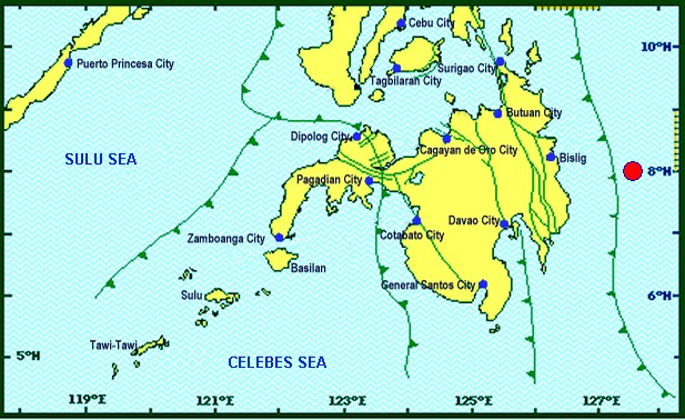Davao Oriental Earthquake today