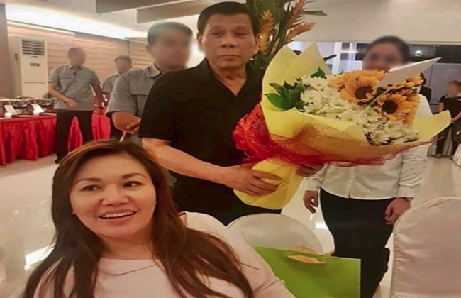 Duterte, Honeylet Avanceña Birthday