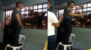 Brave Policeman Courageously Preaches In Front Of Inmates Inside Jail