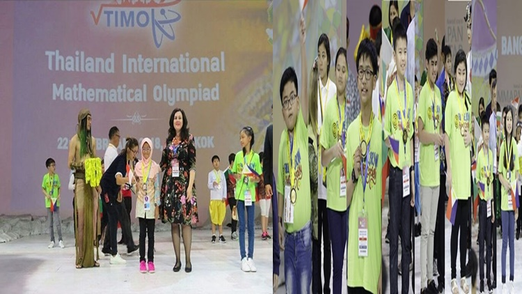 Pinoy Students Bag 87 Medals in Thailand Mathematical Contest