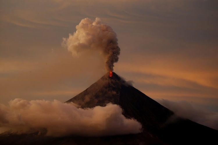 Mount Mayon's