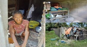 Poor Elderly Man Lives In Dark & Small Sewerage After Abandoned By Children