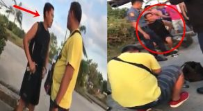 Arrogant Man Claiming To Be Policeman Got Arrested
