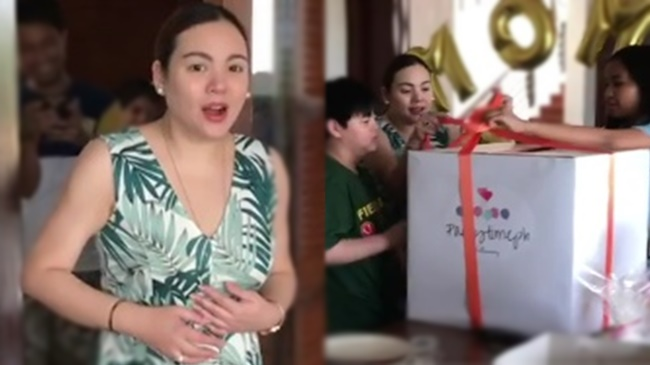 Claudine Barretto Surprise