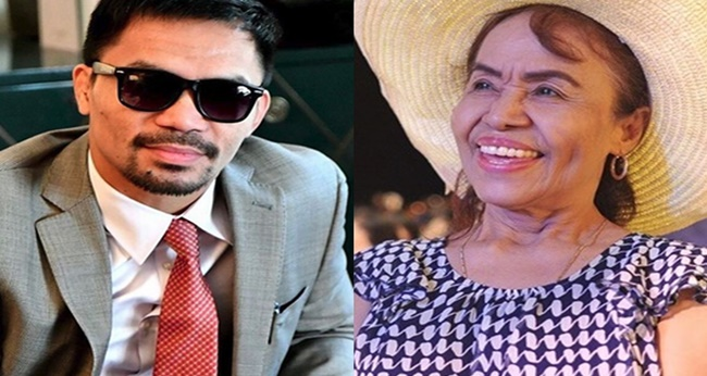 Manny Pacquiao, Mommy D