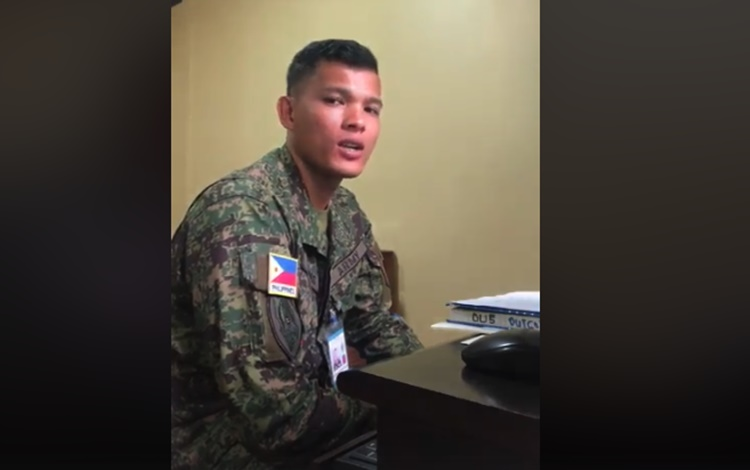 Pinoy Soldier Singing Perfect
