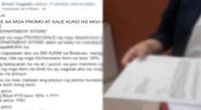 "Netizen Warns Shoppers About Alleged ""Modus"" of Department Stores During Sale, Promo Periods"