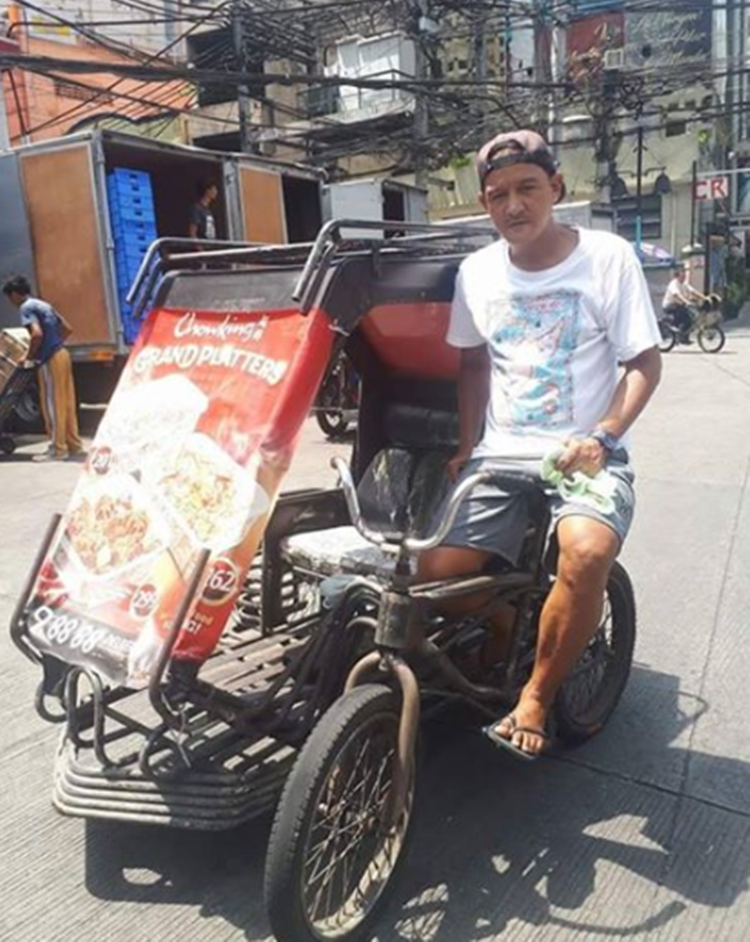 Honest Pedicab Driver
