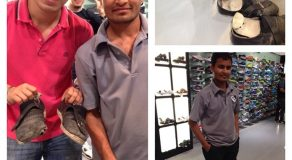Kind-Hearted Filipino Bought New Shoes For Poor Indian National Wearing Damaged Shoes