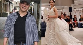 Pinoy Designer Wins At New York's Annual Toilet Paper Wedding Dress Contest