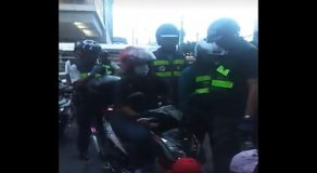 """Videos of Motorcycle Driver Allegedly Accused of """"Illegal Parking"""" in Makati Go Viral"""