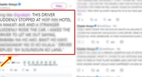 Grab Passenger Complains Driver Stopped At Hotel, Stranger Got Inside The Car
