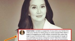 "Kris Aquino Fires Back To Netizens Saying She's Bragging ""Multi-Million Contracts"""