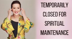 "Kris Aquino Is ""Temporarily Closed For Spiritual Maintenance"""