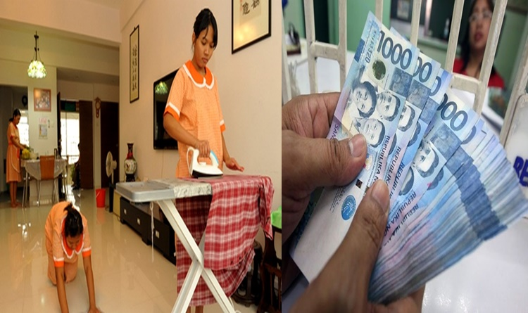 LIST: Salary Rate Of OFW Household Workers In Various