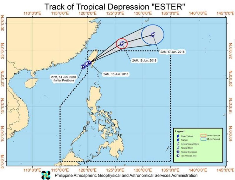 Tropical Depression Ester