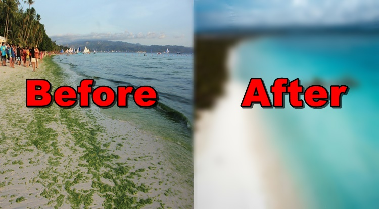 Boracay Island S Latest Photo After Almost 2 Months Of