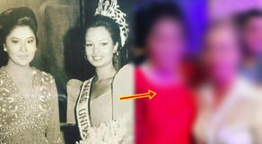 LOOK: Imelda Marcos, Miss Universe 1973 Margie Moran Then-and-Now Photo