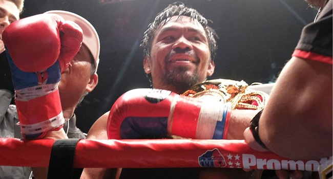Manny Pacquiao Handler