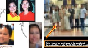 Chiong Sisters: Alleged Jacqueline Chiong a.k.a Debbie Chiong-Sia Wedding Photos With Peter Lim Surfaces