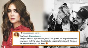 Sofia Andres Re-Posting Hailey Baldwin's Pregnancy Rumors Got Lambasted