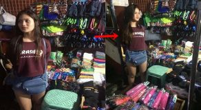 Gorgeous Umbrella Vendor Near Farmers Mall Cubao Goes Viral