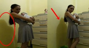 Creepy Shadow Found On Mother's Photos Carrying Her Child Scares Netizens