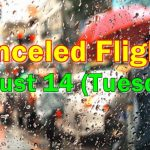 Canceled Flights August 14