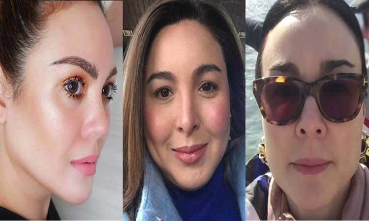 Claudine Barretto, Marjorie Barretto, Gretchen Barretto