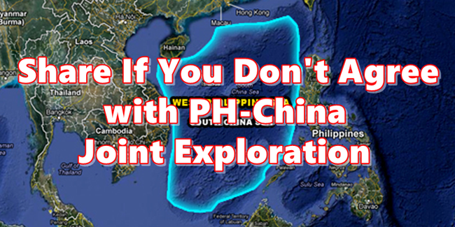 Joint Exploration West Philippine Sea