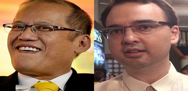 Noynoy Aquino III, Alan Peter Cayetano