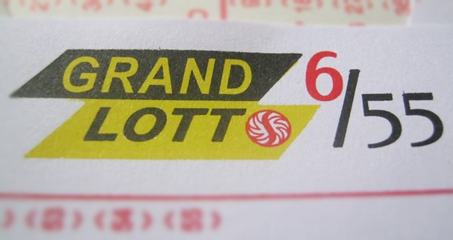 PCSO Grand Lotto 6-55 Winner