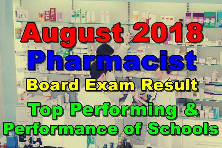 August 2018 Pharmacist Board Exam
