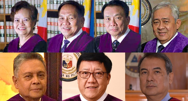 SEVEN SC JUSTICES