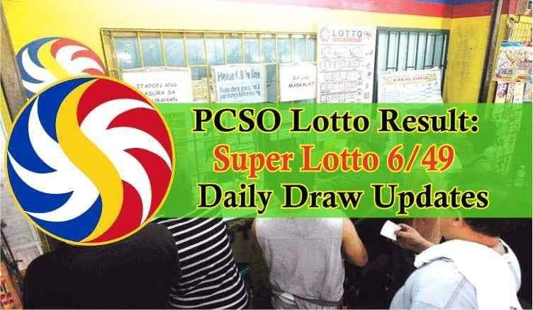 PCSO Lotto Result: 6/49 Super Lotto Result Daily Draw Updates