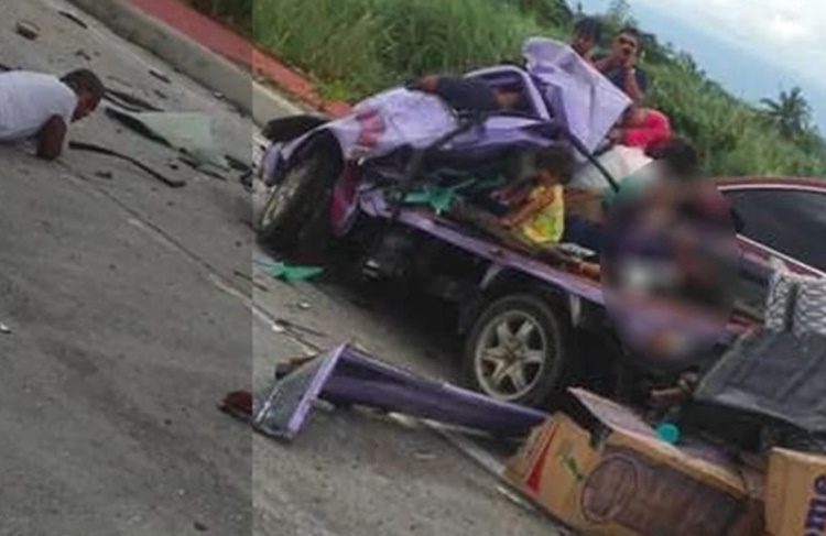 Young Kid Miraculously Survives After Tragic Car Accident In